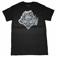 SALE Minecraft Heroes Crest OFFICIAL US Import Gaming Unisex Premium T-Shirt 14F