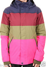 BURTON Eclipse Womens S/M/L Snowboard Parka/Jacket/Coat Winter Hot Streak NEW