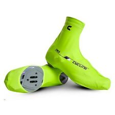 Bicycle Windproof Shoe Covers Bike Cycling Zippered Overshoes Sportwear Green