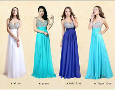 New Long Prom Gown Evening Formal Party Cocktail Prom Dress