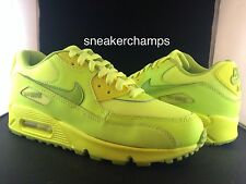 Nike Air Max 90 2007 GS Volt/Fierce Green 307793-700 Size 4-7Y Available LIMITED