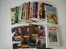 Dr Who Target paperback books - pick your own titles