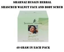 NEW SHAHNAJ HUSSAIN SHASCRUB WALNUT FACE & BODY SCRUB MAKE SKIN BRIGHT(40 GRAM)