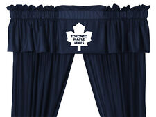 TORONTO MAPLE LEAFS VALANCE WITH DRAPES SET - 19-2446