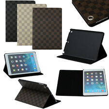 Los Angeles Stock  Cheap PU Leather Case Cover Stand For Apple iPad Air 5/5th US