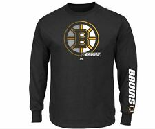 Boston Bruins MENS Long Sleeve Shirt by Majestic Athletic