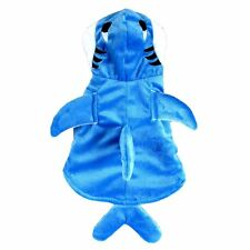 Halloween Costumes Pet Shark Design Clothes Cute Dog Apparel Puppy Cat Clothing