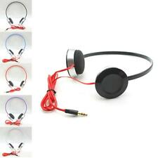 3.5mm Cheap Sport Stereo Headphone Earphone Headset For iPhone Mobile Phones MP3