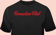Black Tee, Bar Staff, Club Promo, Whiskey, Canadian Club, 100% Cotton, Gildan