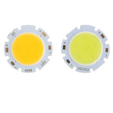 3W Cool/Warm White COB SMD Round High Power LED Bead Lamp Chip Light Bulb New