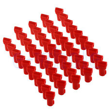 100x Red Retail Shop Security Display Hook Anti-Sweep Anti-Theft Stop Lock BE