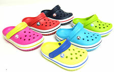 Genuine Kids Crocs Crocband Clogs Shoes - 12 Different Colours, Various Sizes