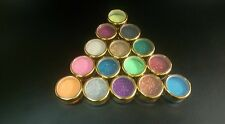 10 grams glitter (2 x 5 gram jars)  for glitter tattoos  17 colors to choose