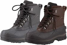 "8"" Cold Weather 100% Waterproof Hiking Boots - Black Or Brown Winter Snow Boot"