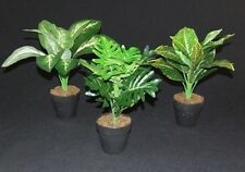 ARTIFICIAL FOLIAGE GREEN LEAF GREENERY POT PLANTS FLOWERS