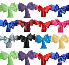 """6""""x108"""" SATIN SASH Chair Bow Wedding Party Banquet Decorations NEW"""