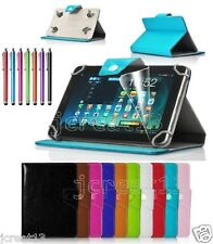"Flap Leather Case Cover+Gift For 7"" Clickn kids 7-inch Android Tablet TY8"