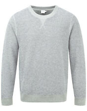 Sunspel Men's Crew Neck Sweater - Grey Melange