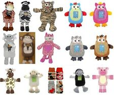 Wildlife Animal Design Hot Water Bottle With Cover Heat Pack Warmers Soft Gift