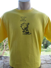 """Calvin """"Smash The State"""" T-Shirt Anarchist Anarchy"""