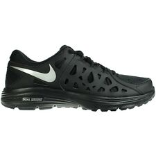 NIKE MENS DUAL FUSION UK SIZE 8 9 11 BLACK LIGHTWEIGHT RUNNING SHOES TRAINERS