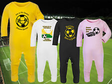BURTON ALBION Football Baby Romper Suit Sleep Personalised Gift- Any team/colour