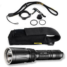 Nitecore SRT7 Tactical Flashlight w/Optional Batteries and Charger