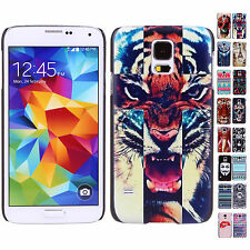 CHEAP NEW 17 Kinds Patterns Snap Hard Back Skin Case Cover For Samsung Galaxy S5