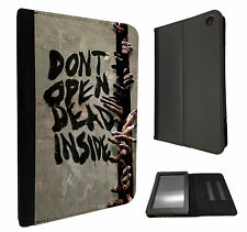Walking Dead Zomie Hands Kindle Fire Hd 7'' HDX 7'' Case Leather Flip cover