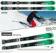 HEAD SKI REV 80 Pro SW PR + Bindings PR 11 BRAKE 90 Sci ALL RIDE ROCKER 310584