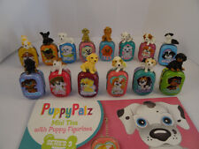 Puppy Palz series 3 collectible toy figures with free storage tin, party fillers