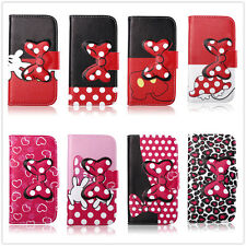 Fold Stand Magnetic Bow Leather Cover Case For Samsung Galaxy Core Duos i8262