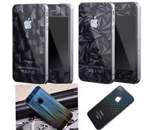 1 Pair 3D Protective Phone Case Cover Skin Film Foil Protection For iPhone4/5 HK