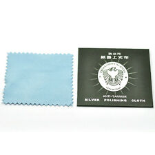 1/5/10/Pcs Anti-Tarnish Silver Polishing Cleaning Cloth Cleaner Platinum Jewelry