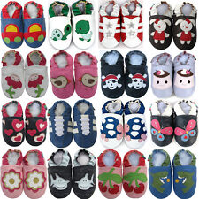 shoeszoo UK leather soft sole baby/toddler shoes prewalkers girls/boys