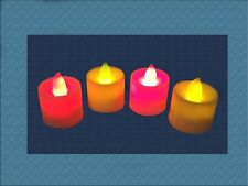 LED FLAMELESS Tealight Candles Battery Operated
