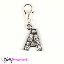 Letters of the Alphabet Initial Diamante Letter Clip On Charm Links of London