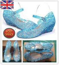 Frozen Anna&Elsa princess Cosplay party shoes kids girls Xmas gift