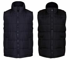 Mens Padded Gilet Quilted Body Warmer 2 Colours Sizes M - XXXL