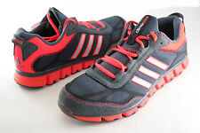 cfb7b9d821190 Men Adidas Running Clima Aerate 1.1 G66264 Dark Gray Silver Red 100%  Authentic