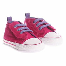 Converse First Star Easy Slip Infant Baby Fashion Crib Trainer Shoe Pink RRP £25