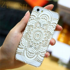 MANDALA FLOWER HENNA FLORAL PAISLEY HARD CASE COVER FOR IPHONE 6&6 Plus 5S 4S 5C