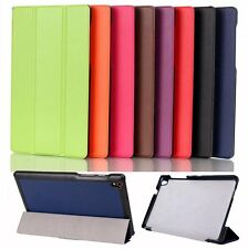 "Tri Folding Slim Stylish Leather Case Cover For 8"" Lenovo Tab S8-50 Tablet PC"