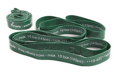 PAIR(2) VITTORIA HIGH PRESSURE WHEEL RIM TAPES (145psi) 700c x15mm (622mm) GREEN
