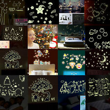 DIY Fluorescence Removable Night Glow in the Dark Luminous Mural WallPaper Decal
