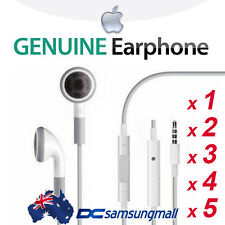 1~5 xGenuine Apple Earphones with Remote & Mic iPhone earbuds headphones