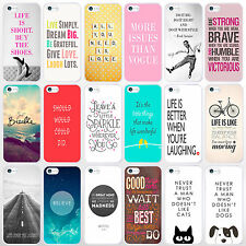 Quote Phone Cases for iPhone Range. Inspirational Life & Love Sayings