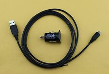 10 Ft Charger USB Cable + 2.1A Rapid Vehicle Car SUV Battery Adapter for Tablet