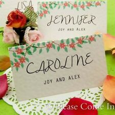 Personalized Spring/Summer Garden Theme Wedding Place Cards Escort Cards