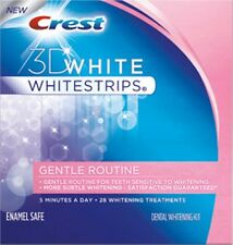 Crest3D GENTLE ROUTINE whitestrips whitening strips SENSITIVE TEETH chooseamount